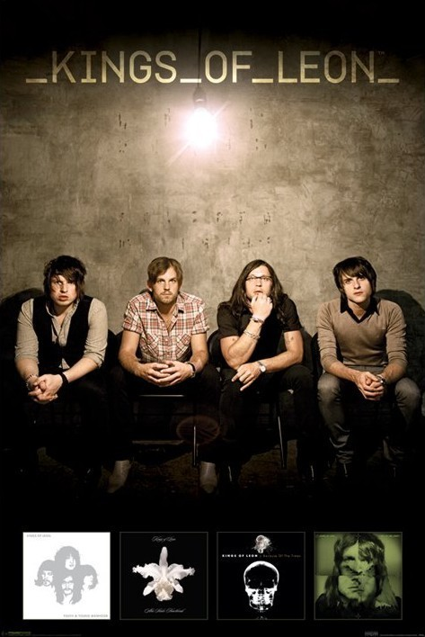 Plagát Kings of Leon – albums