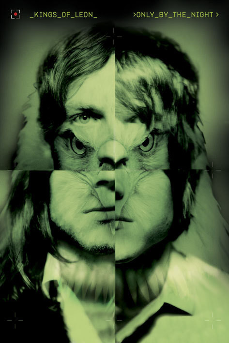 Plagát Kings of Leon - only by the night
