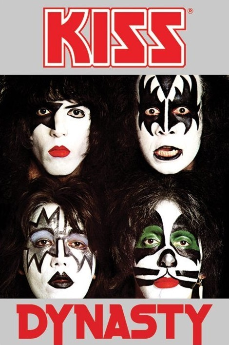 Plagát Kiss - dynasty
