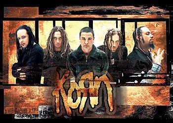 Plagát Korn – gold