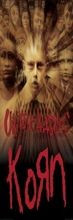 Plagát Korn- untouchables
