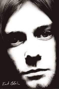 Plagát Kurt Cobain - face