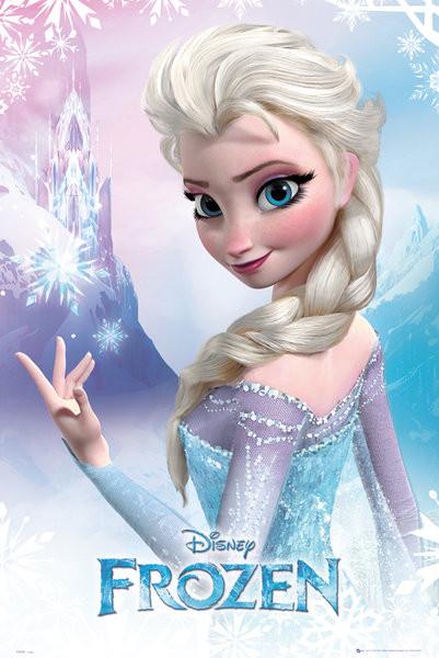 Plagát L'adové král'ovstvo - Elsa
