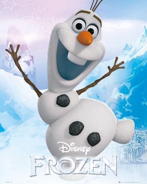 Plagát L'adové král'ovstvo - Olaf
