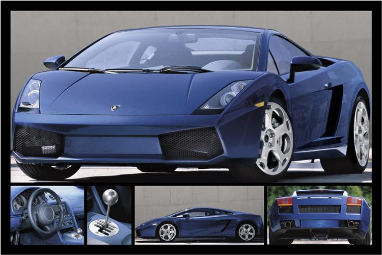 Plagát Lamborghini Gallardo
