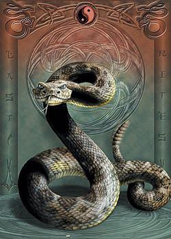 Plagát Last rites - had / yin yang