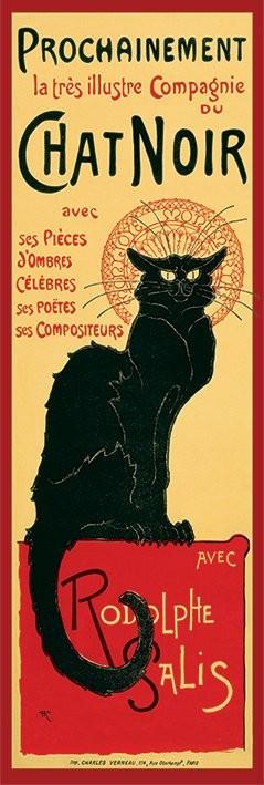 Plagát Le Chat noir - Steinlein