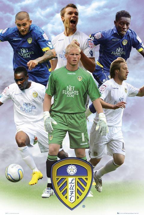 Plagát Leeds - players 2010/2011