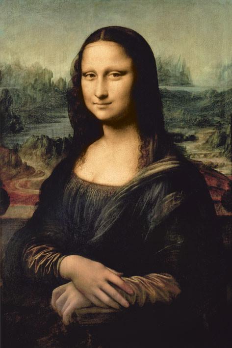 Plagát Leondardo da Vinci - mona lisa