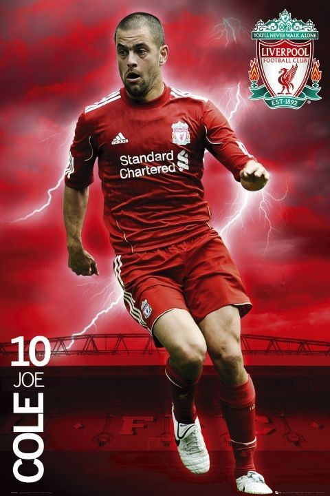 Plagát Liverpool - cole 2010/2011