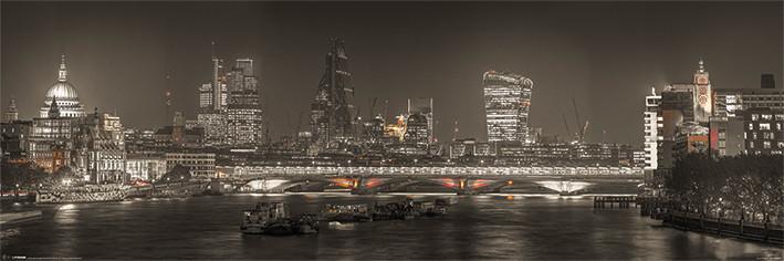 Plagát Londýn - Skyline