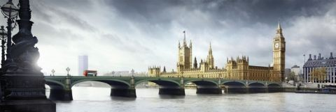 Plagát Londýn - westminster bridge