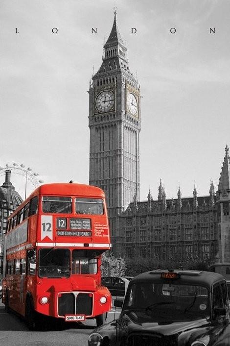 Plagát Londýn - westminster