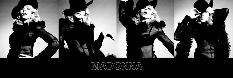 Plagát Madonna - give it to me