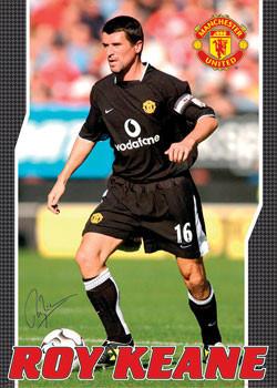 Plagát Manchester United - Keane away