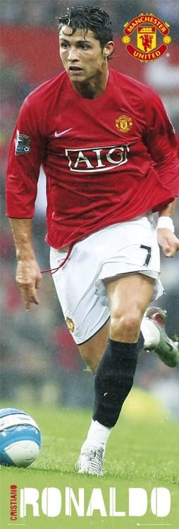 Plagát Manchester United - Ronaldo 07/08