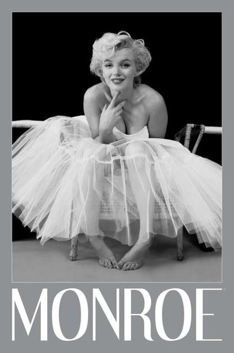 Plagát Marilyn Monroe - ballerina