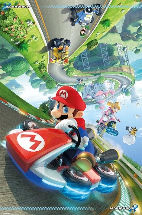 Plagát Mario Kart 8 - Flip Poster