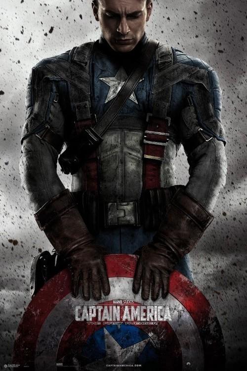 Plagát Marvel - Captain America