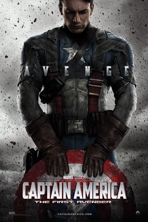 Plagát MARVEL - captain america teaser