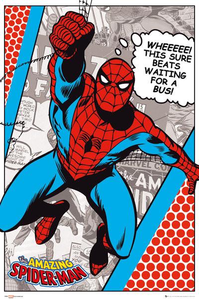 Plagát MARVEL - spider-man