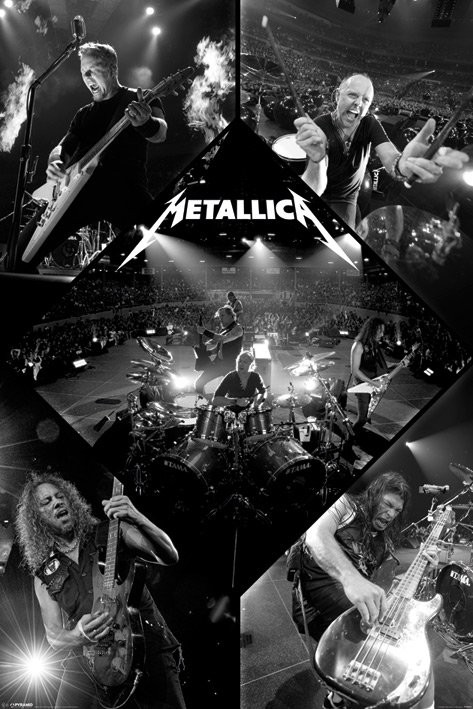 Plagát Metallica - live