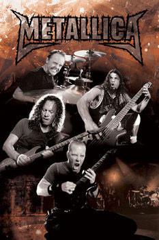Plagát METALLICA - metal