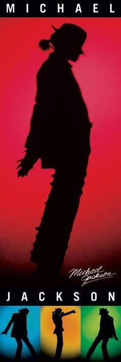 Plagát Michael Jackson - silhouettes