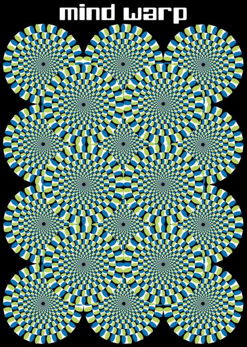 Plagát Mind warp - circles