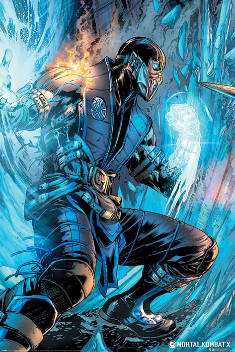 Plagát Mortal Kombat - Sub Zero