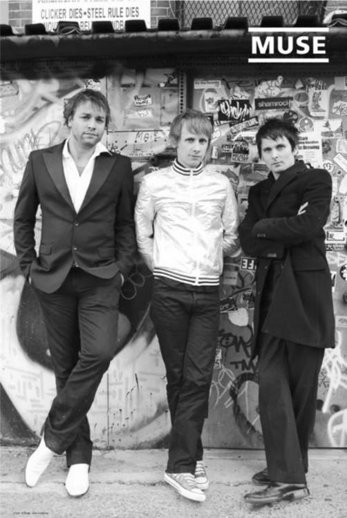 Plagát Muse - tour