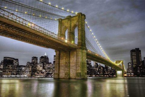 Plagát New York - bridge 2