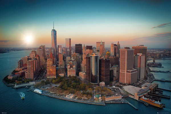 Plagát New York - Freedom Tower Manhattan