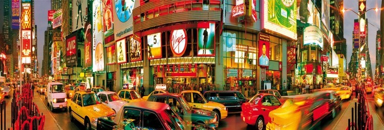 Plagát New York - Times square