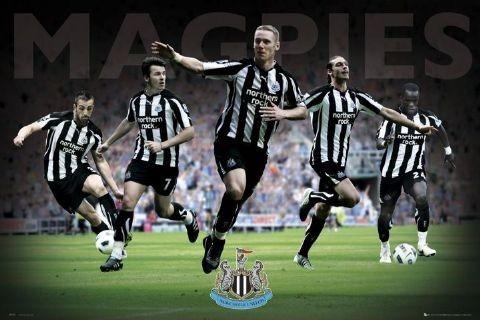 Plagát Newcastle - players 2010/2011