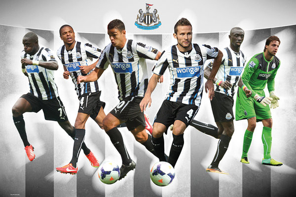 Plagát Newcastle United FC - Players 13/14