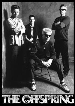 Plagát Offspring - group b&w