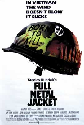 Plagát OLOVENÁ VESTA / FULL METAL JACKET - helmet