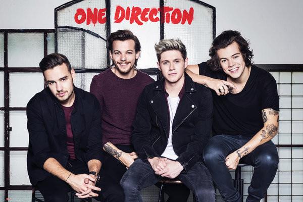 Plagát One Direction - Stools