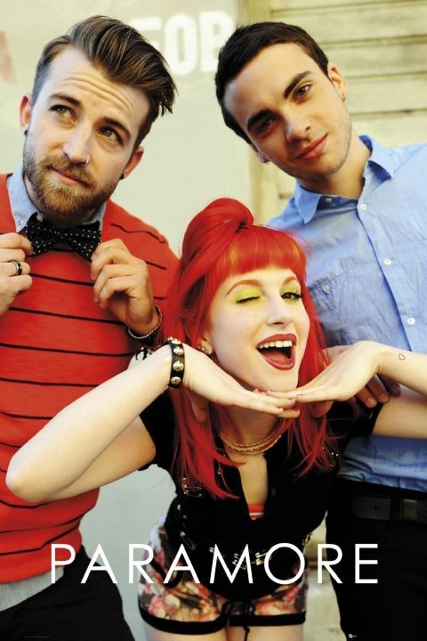 Plagát Paramore - trio