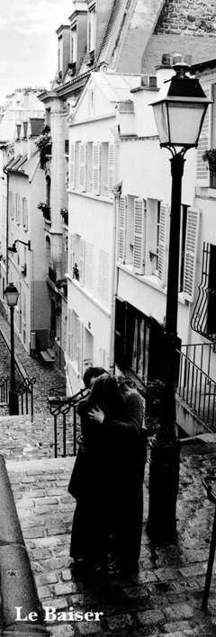 Plagát Paríž - le baiser