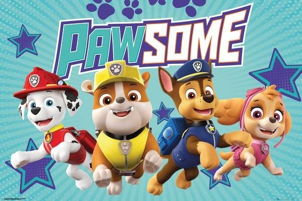 Plagát  Paw Patrol - Pawsome