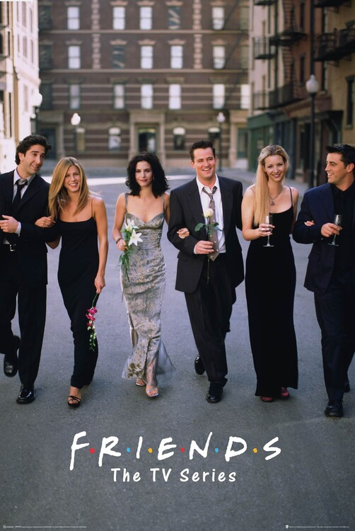 Plagát Priatelia - TV seriál