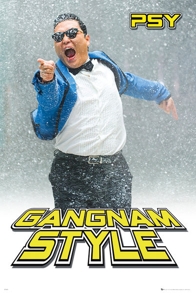 Plagát PSY - gangnam snow