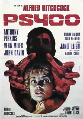 Plagát Psycho - Italian