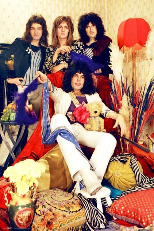 Plagát  Queen - Band
