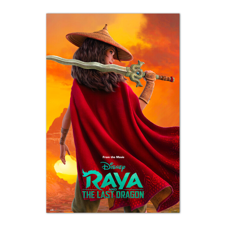 Plagát Raya and the Last Dragon