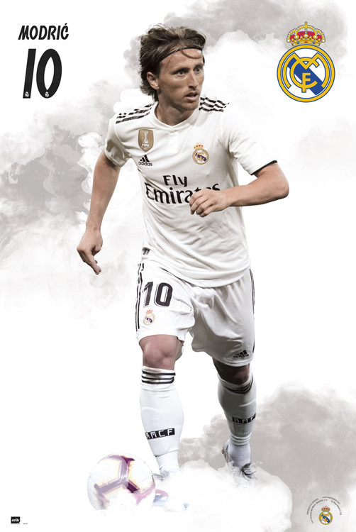 Plagát  Real Madrid 2018/2019 - Modric
