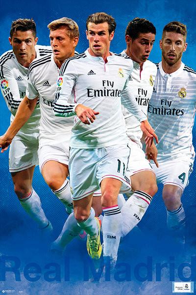 Plagát Real Madrid - Group Shot 14/15