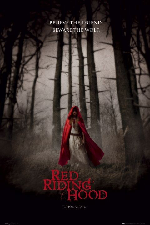 Plagát RED RIDING HOOD - one sheet